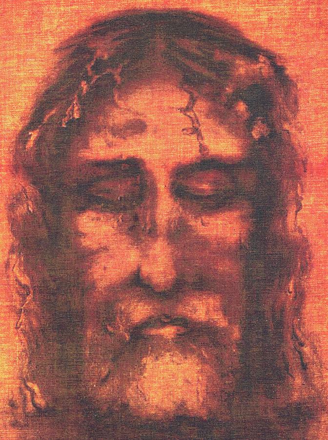 Reconstitution du visage de l'homme du linceul